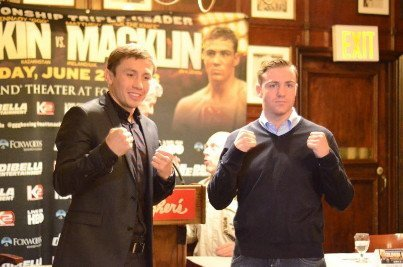 Macklin: Im the biggest puncher Golovkin has ever faced