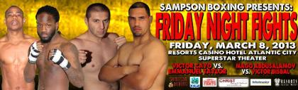 Thomas LaManna Ready to Drop Jaws at Resorts Casino on March 8