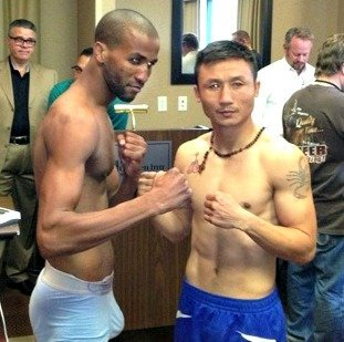Weigh in results for ESPN2 FNF Minneapolis