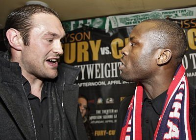 Heated Exchange at Tyson Fury   Steve Cunningham Press Conference