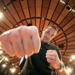 Tyson Fury Attends Knicks Game   NBC Fury   Cunningham Saturday Afternoon 4/20 MSG