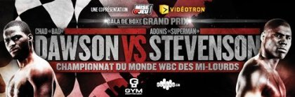 Dawson Stevenson & Gamboa Perez this Saturday, June 8th on HBO in Montreal, Canada