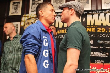 Gennady Golovkin Matthew Macklin final press conference quotes