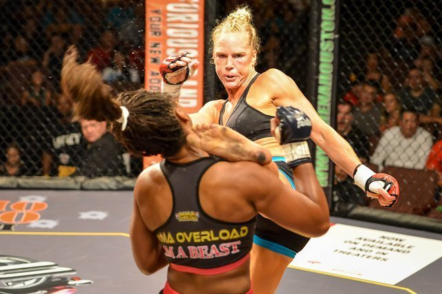 Holly Holm registers KO Kick of the Year candidate in Legacy FC debut!!