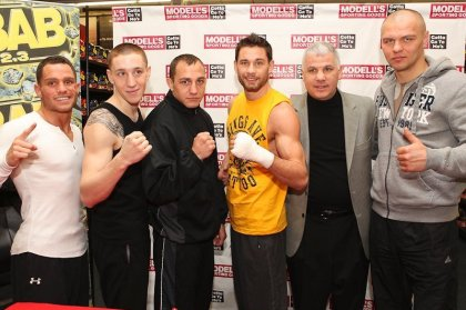 Seldin Cuba, Algieri Alejo & Glazkov Scott on Saturday night