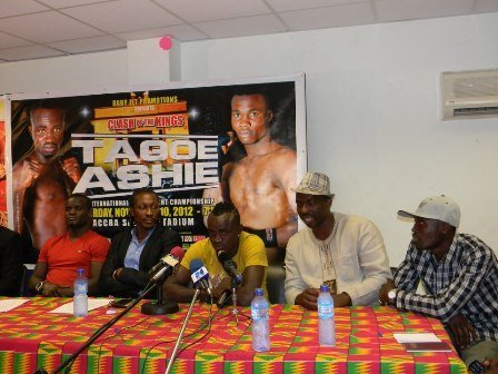 Ashie vrs Tagoe Ashie, Tagoe set stage for November 10 showdown