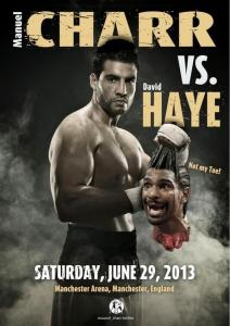 Charr working hard to get Haye fight; tweets gory photo of him