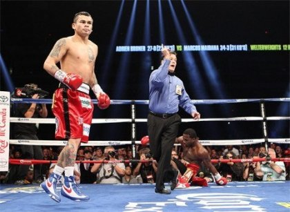 Maidana Knocks Broner Speechless