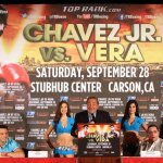 Chávez Jr & Vera Press Conf Quotes and Photos