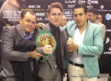 Canelo vs. Trout Unification Fight on Saturday, April 20 LIVE on SHOWTIME From the Alamodome; Tickets on Sale Now