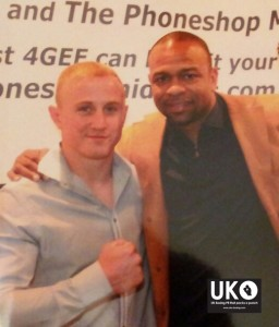 Chris Truman & Roy Jones Jr