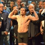 Photos: Marquez Bradley Weigh In