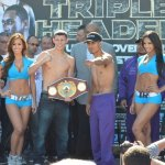 Photos   Weigh in: Garcia Martinez, Donaire Darchinyan, Martirosyan Andrade
