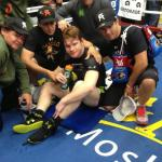 Saul Canelo Alvarez Media Day Workout Quotes / Photos
