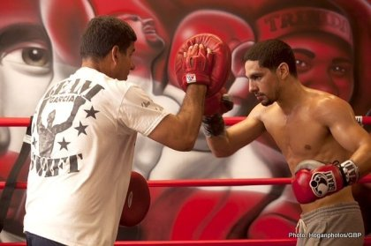 Danny Garcia & Angel Garcia Media Workout Quotes & Photos