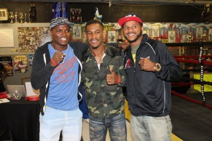 "Jacobs, Quillin and Dirrell ""Get In The Ring"" To Knock Out Childhood Cancer, Obesity and Bullying"