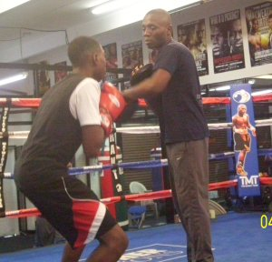 UK boxing star Junior Saba begins Las Vegas training camp
