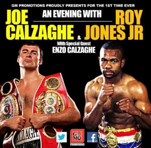 Joe Calzaghe looks forward to returning to Scotland and seeing old foe Roy Jones Jnr