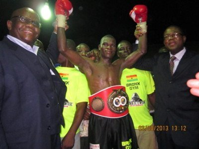 Richard Commey wins IBF Africa Lightweight title