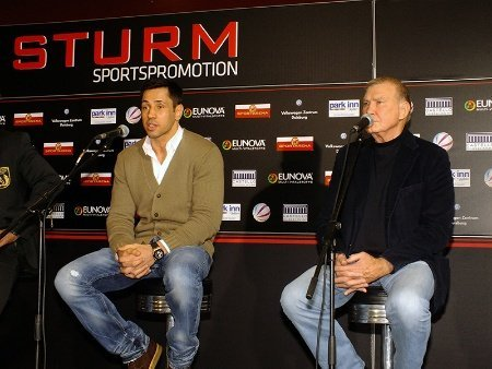 Sturm Sdunek Sturm vs. Soliman   Quotes and Photos First Press Conference