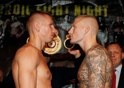 Weigh in Video: Nielsen Majewski, Braekhus Castillo
