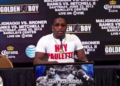 Broner Malignaggi square off this Saturday, June 22nd in Brooklyn, New York