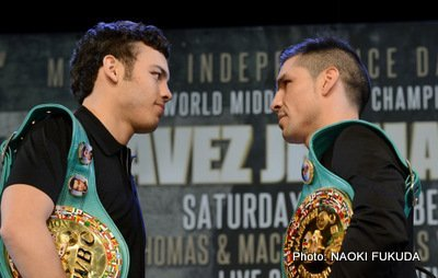 Chavez Jr. vs. Martinez: Just the facts!