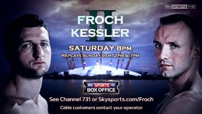Atlas picks Froch to beat Kessler