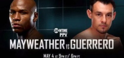 Floyd Mayweather vs  Robert Guerrero: World Championship Boxing Returns to Cinemas this May
