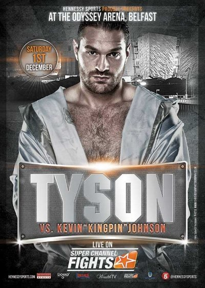 Tyson Fury vs. Kevin Johnson, exclusively in Canada on Super Channel