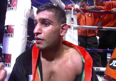 Is Amir Khan shot or simply a fighter in transition?