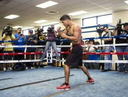 Abner Mares vs. Jhonny Gonzalez & Undercard Fighters Media Workout Quotes
