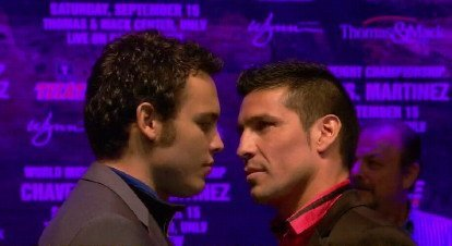 Chavez Jr Martinez: Dont Cry For Me Argentina