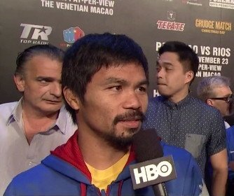 Manny Pacquiao To Visit Mayweather Jr. In United States