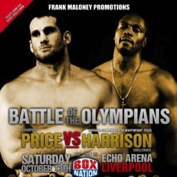 Harrison vs Price: Audley Harrison Loves home comforts