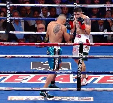 rios43 Donaire stops Nishioka in 9th round; Rios defeats Alvarado in 7th round TKO