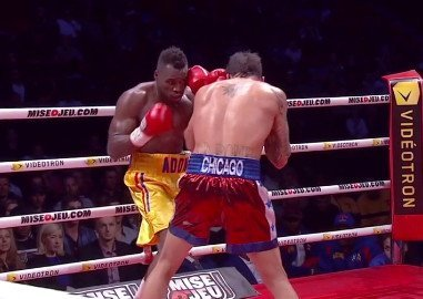 "Adonis ""Superman"" Stevenson stops Don ""Da Bomb"" George in 12"