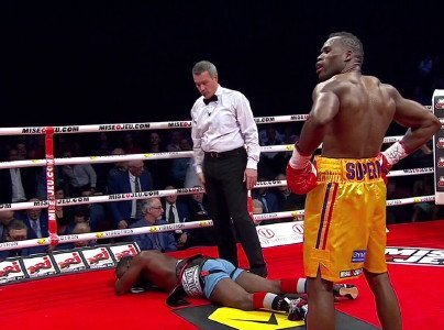 "The Pugilist KOrner: Adonis Stevenson, ""Ice Man"" John Scully, Abel Sanchez, and Guy Robb"
