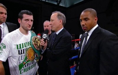 Froch wants to save Ward for last; possibly in Las Vegas