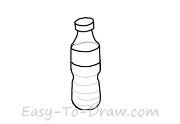 Draw A Wine Glass And Bottle Youraok