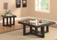 Occasional Group Contemporary Coffee Table with Tempered ...