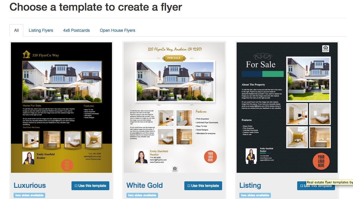 Free Real Estate Flyer Templates Word. Dr Coyle Connolly
