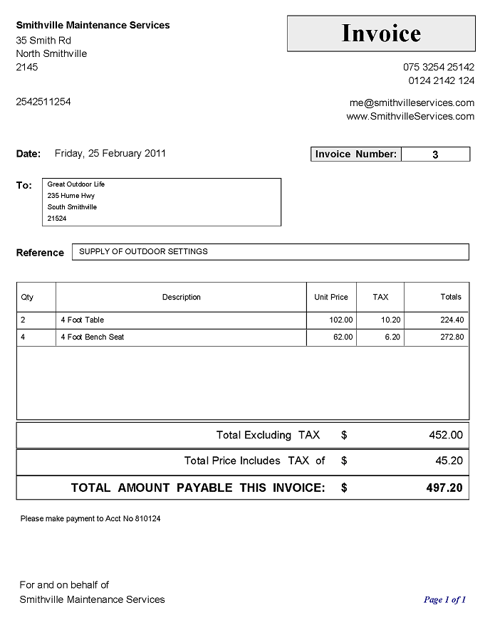 definition of invoice template | resumeguide – firmsinja, Invoice templates