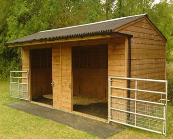 Small Fabric Shelter : Inexpensive mini horse shelters barns easy diy and crafts