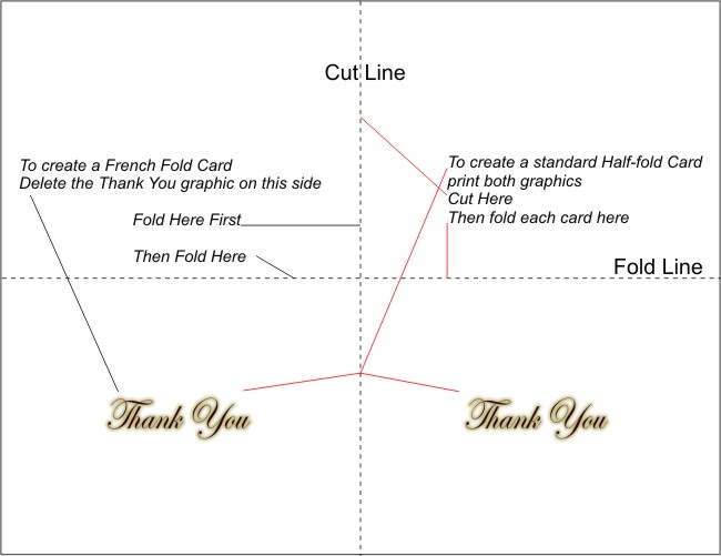Free Printable Thank You Cards - 3