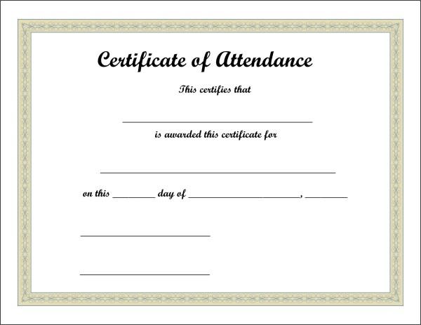 Free Printable Certificate 5