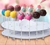 Cake Pop Decoration Stand Lollipop Decorating Cardboard ...