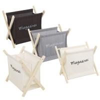 Wooden Magazine Newspaper Rack Holder Organiser Floor ...