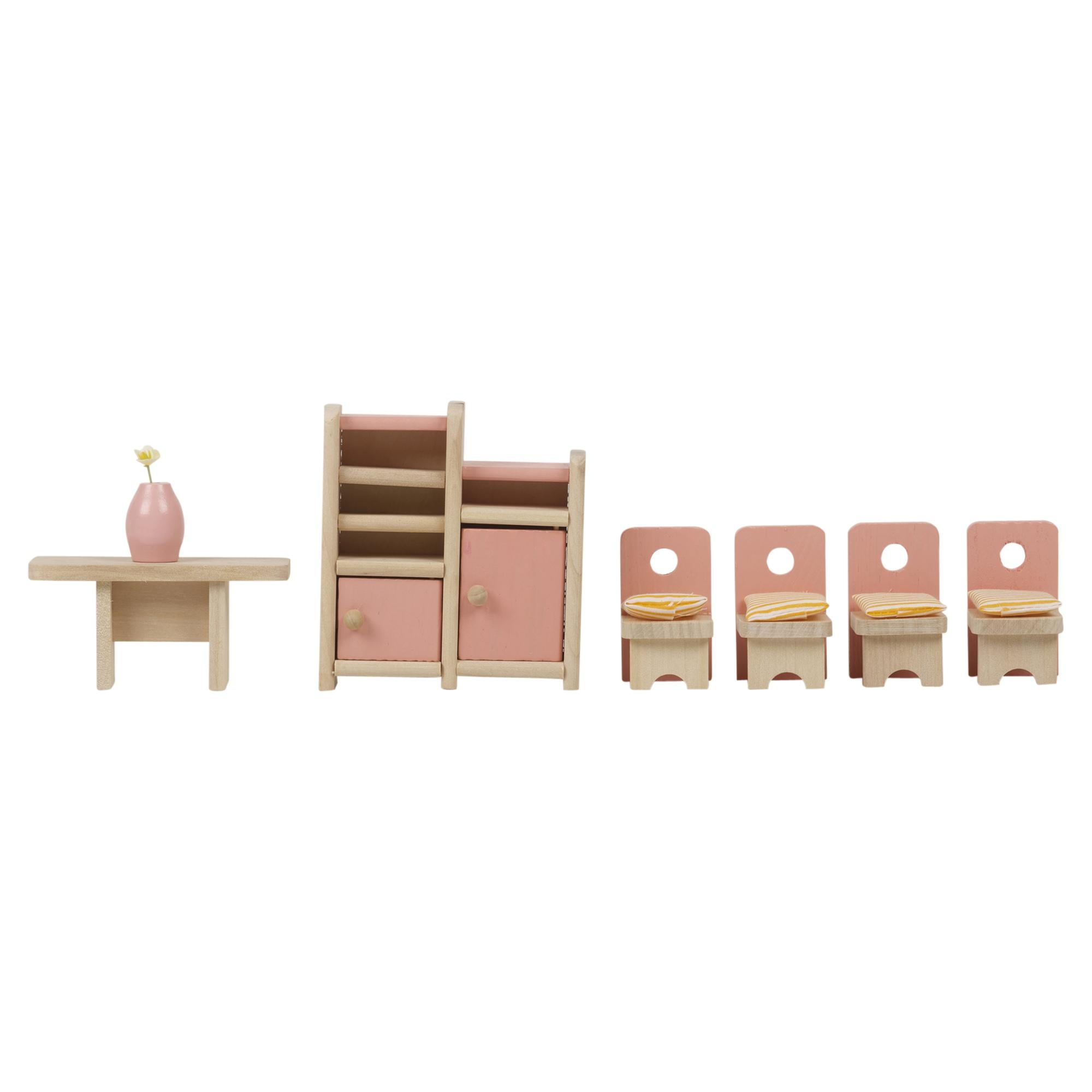 Kinder Holz Puppenhaus Mbel Sets Badezimmer Schlafzimmer