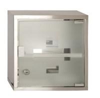 Wall Mounted Lockable 2 Keys Medicine Cabinet Cupboard ...